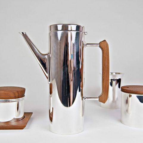 Mokka--Teeservice-Karl-Dittert-Gebr-Kuehn-Schwaebisch-Gmuend-1960-1