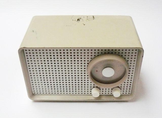 Braun Radio, Kleinsuper SK 1, Braun Frankfurt, 1955