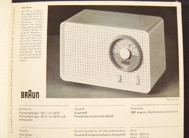 Braun Radio Kleinsuper SK 1