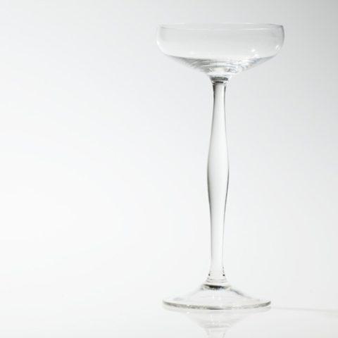 Sektschale, Peter Behrens für Kristallglasfabrik Benedikt von Poschinger, Oberzwieselau