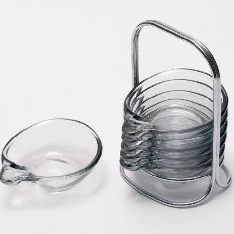 Stapelaschenbecher, Heinrich Löffelhardt, Jenaer Glas