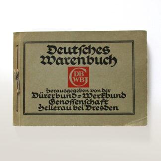 """""""Deutsches Warenbuch"""", Dürerbund-Werkbund-Genossenschaft, Dresden-Hellerau"""