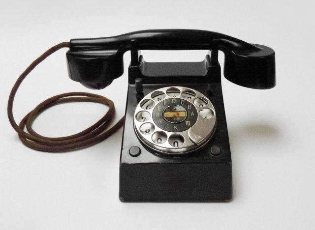 Bauhaus-Telefon, Fuld & Co, Frankfurt, 1928