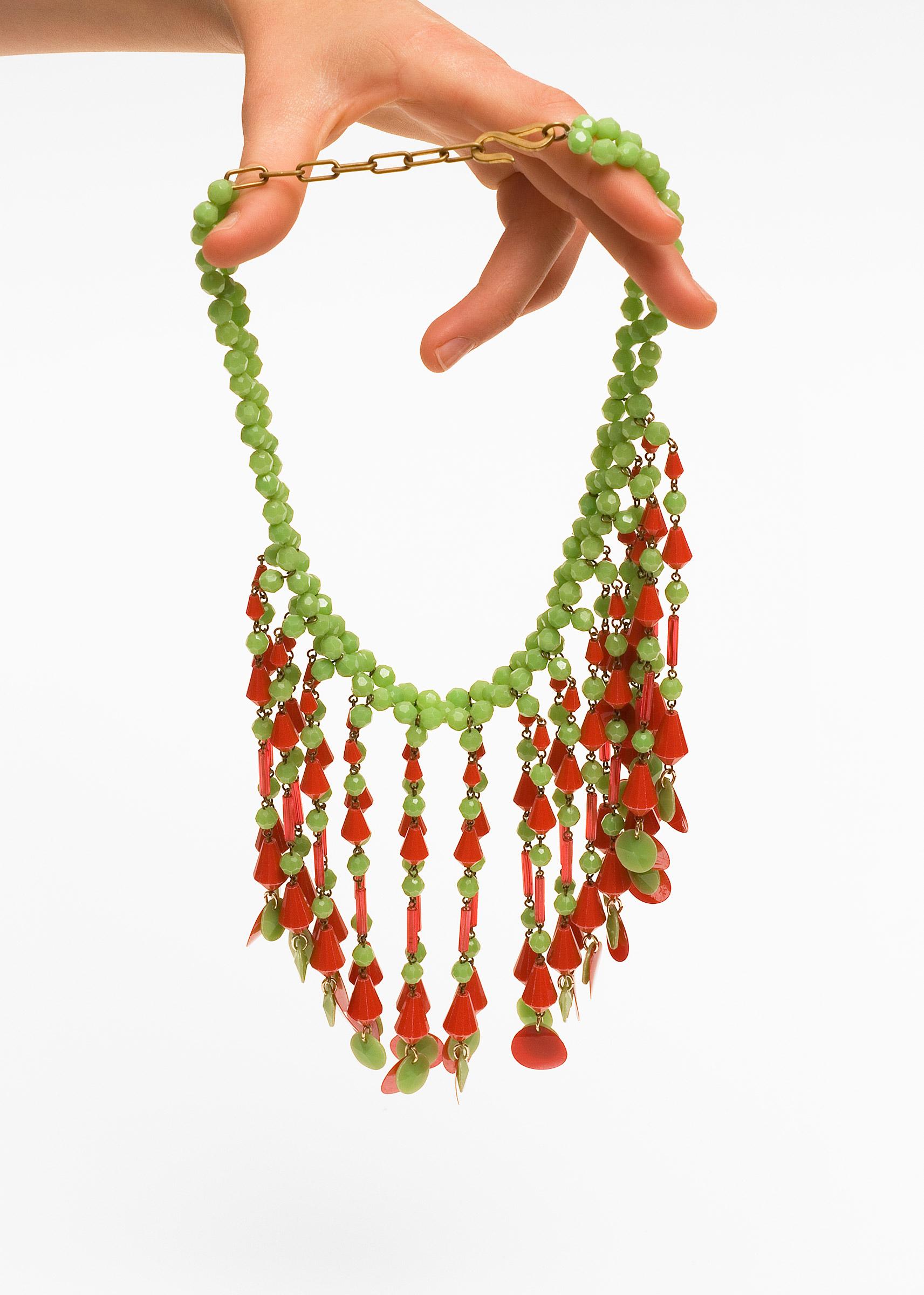 Halskette, Kunststoff, Pop Art