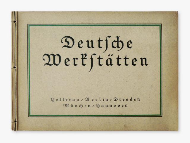 """Preisbuch """"Das Deutsche Hausgerät"""", Deutsche Werkstätten, Dresden"""