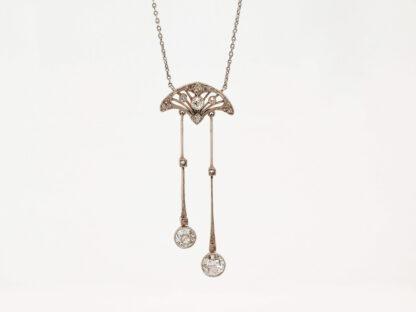 Negligé-Collier mit Diamanten, 1910-1915